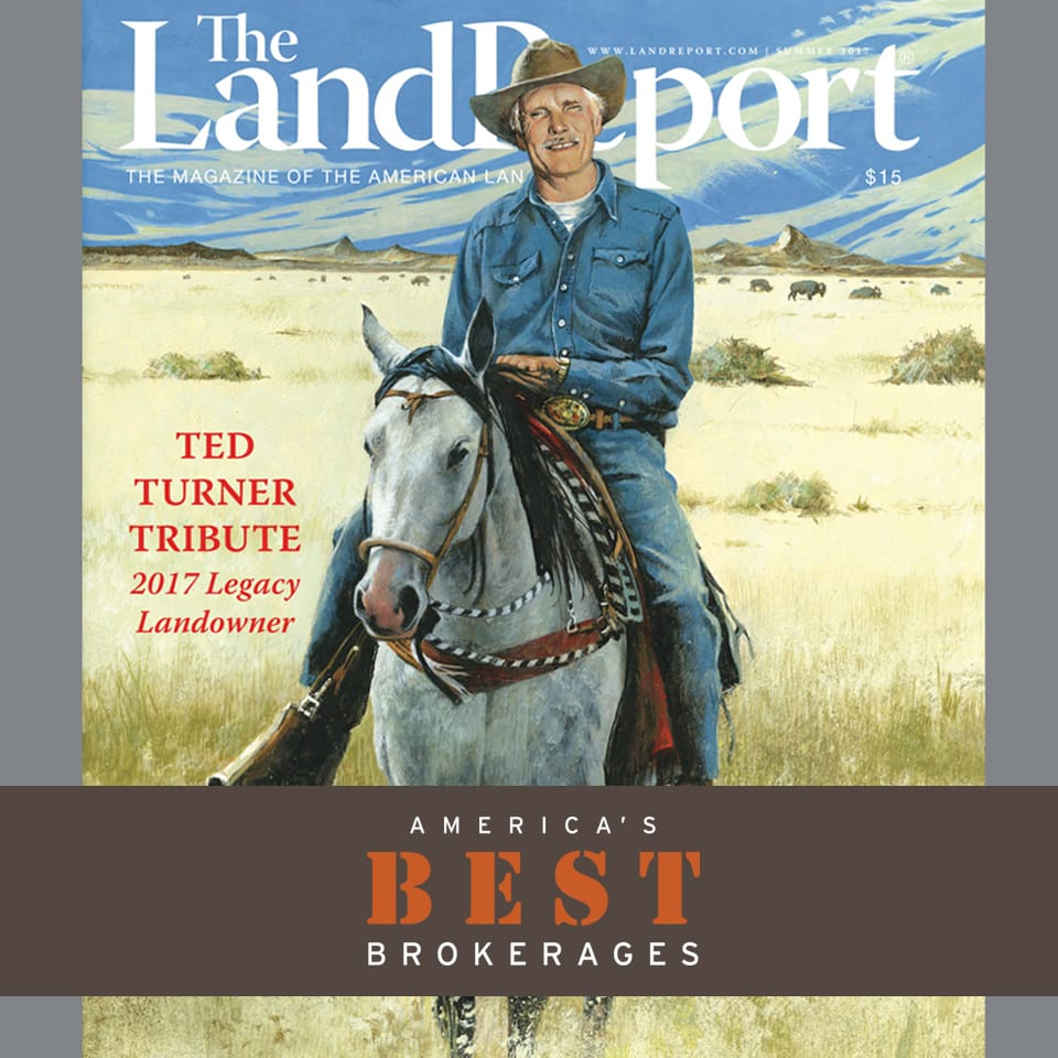 Read all about it! The Land Report names The Wright Group as one of America's Best Brokerages