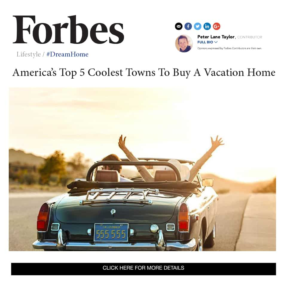 Forbes is in on the secret: Forbesnames Thomasville one of America's Top 5 Coolest Towns to Buy a Vacation Home…check it out!