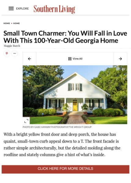 Southern Living, January 8th, 2019 - The Wright Group